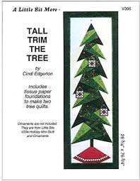 Amazon.com: Tall Trim The Tree Pattern: Home Improvement